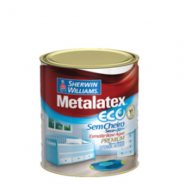TINTA METALATEX ECO ESMALTE ALTO BRILHO 1/4 900ML