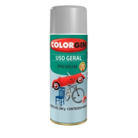 TINTA SPRAY COLORGIN U.GERAL P/RODAS TUBO 400ML