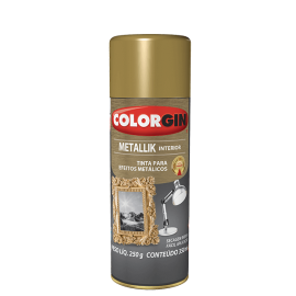 TINTA SPRAY COLORGIN METALLIK TUBO 350ML